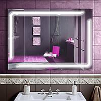 Зеркало LED со светодиодной подсветкой DV 7573 1000х700 мм.