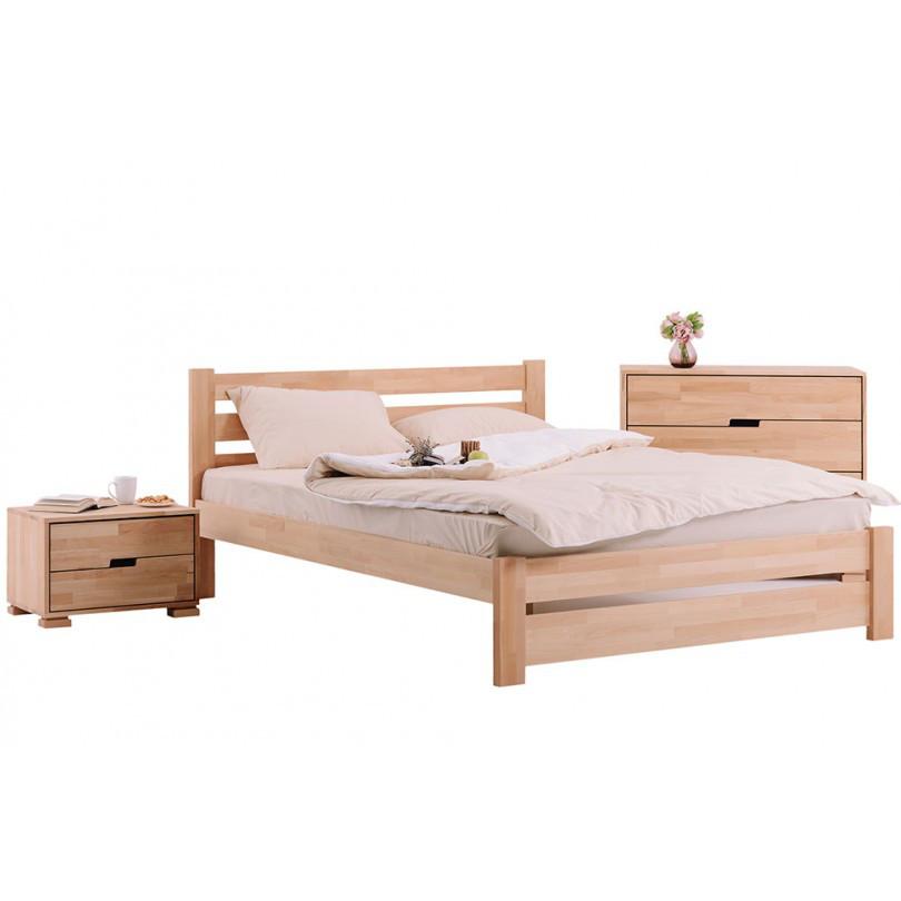Кровать деревянная Л-4