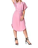 Легкое летнее платье в нежных тонах, фото 1