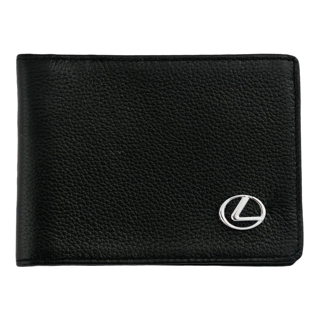 Кожаная обложка для прав AZU с логотипом Lexus