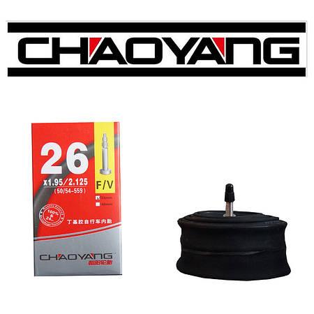 Камера ChaoYang 26 x 1,95 / 2,125 FV (48 мм) Presta