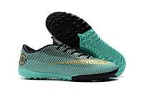 Сороконожки Nike Mercurial VaporX XII CR7 Pro TF, фото 1