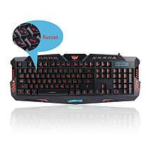 Игровая клавиатура с подсветкой M-200, фото 2