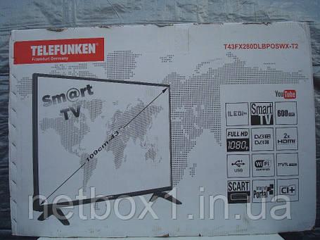 Telefunken T43FX280DLBPOSWX T2 Smart WiFi, фото 2
