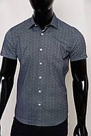 Рубашка мужская с коротким рукавом GS 447669-1 черная