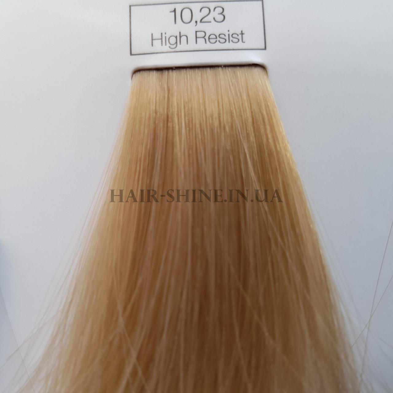 Краска без аммиака 60 мл  L'Oreal Professionnel Inoa № 10.23 очень светлый блондин перламутровый золотистый