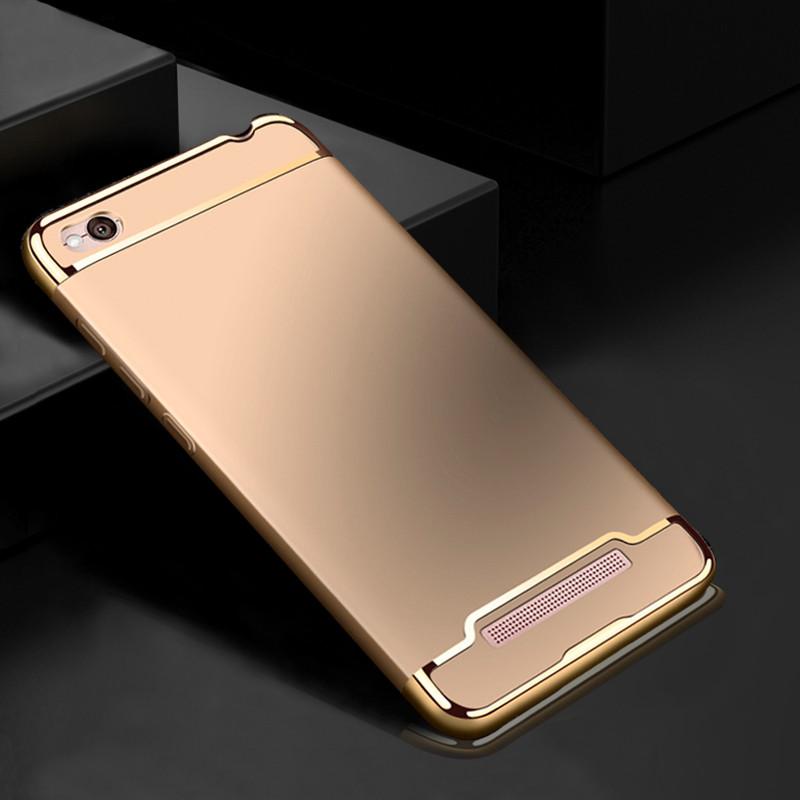 Чехол Fashion для Xiaomi Redmi 4A Бампер Gold