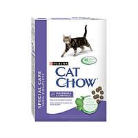 Cat Chow Hairball Control корм для выведения шерсти у кошек, 1,5 кг