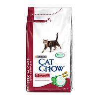Cat Chow Urinary Tract Health корм для профилактики мочекаменной болезни у кошек, 15 кг