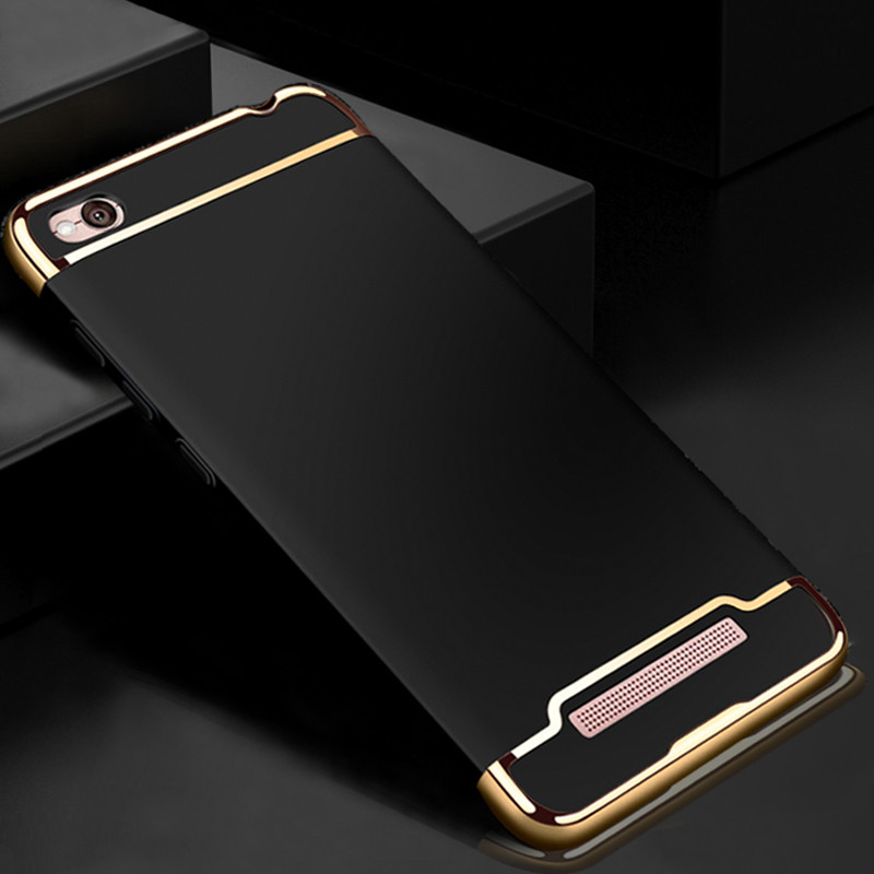 Чехол Fashion для Xiaomi Redmi 4A Бампер Black