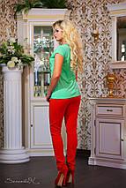 Женская футболка с цветочным рисунком (0759-0760 svt), фото 3