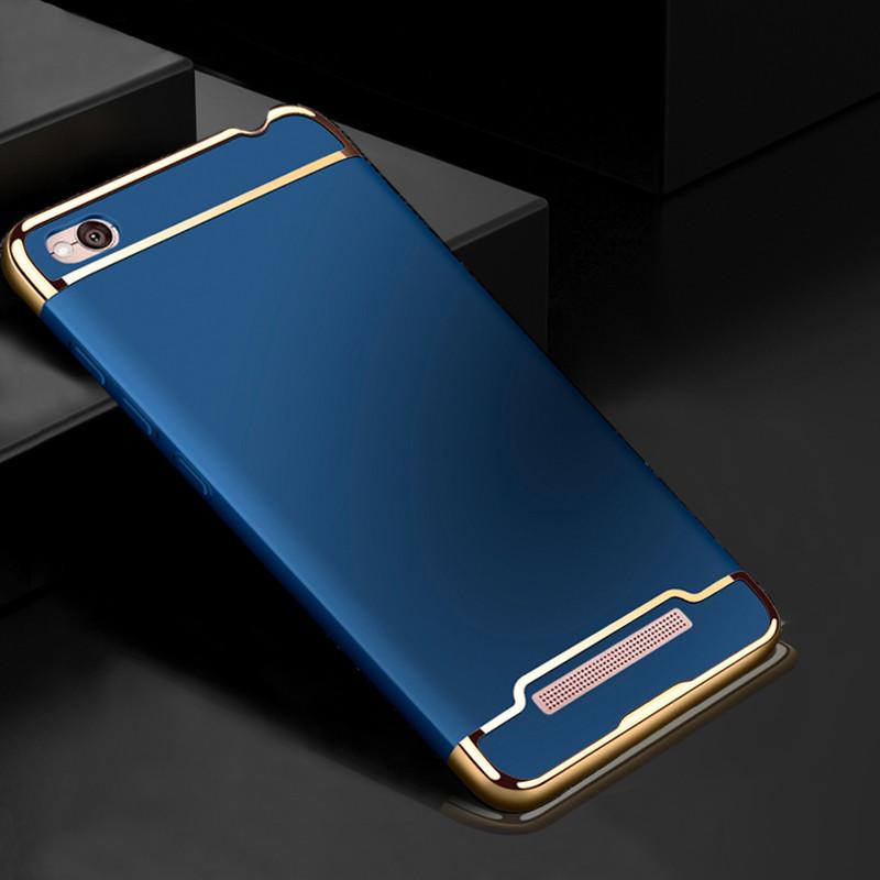 Чехол Fashion для Xiaomi Redmi 4A Бампер Blue