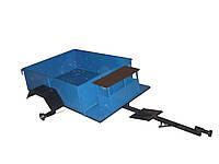 Прицеп к мотоблоку (1,1х1,4 м) усиленный