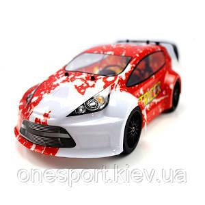 Радиоуправляемый шоссейный автомобильHimoto Tricer E18OR Brushed (красный)  1:18 + сертификат на 150 грн в подарок (код 191-104716)
