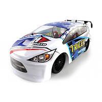 Радиоуправляемый шоссейный автомобиль Himoto Tricer E18OR Brushed (белый) 1:18 + сертификат на 150 грн в подарок (код 191-104717)