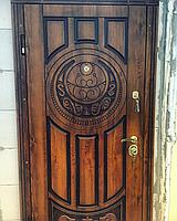 Входная металлическая бронированная дверь 179 патина