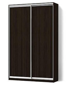 Шкаф-купе Стандарт двухдверный фасады ДСП+ДСП