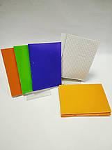 Блокнот на скобе А6 36 листов пластиковая обложка, фото 3