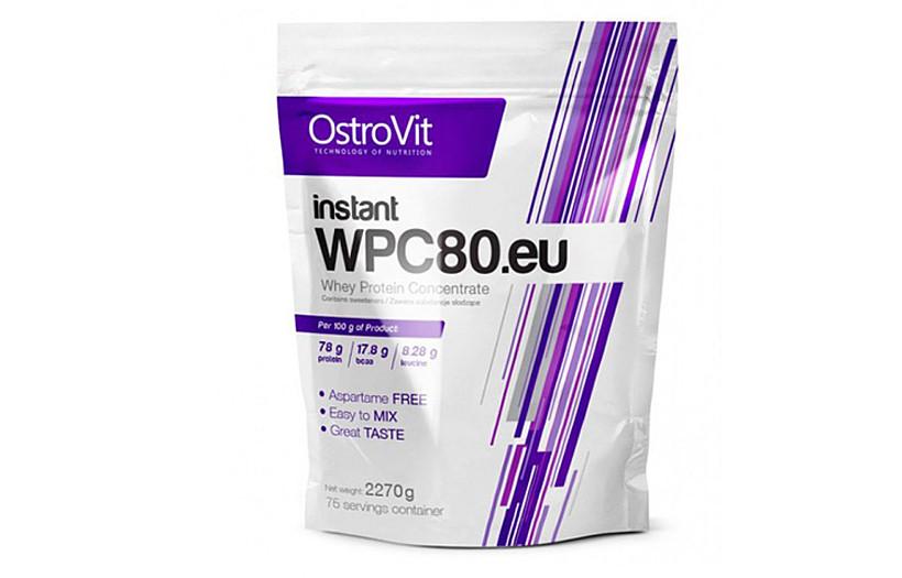 Протеїн OstroVit INSTANT WPC80.eu 2270 g.(ВАНІЛЬ)