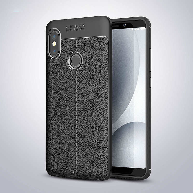 Чехол Touch для Xiaomi Redmi Note 5 / Note 5 Pro  Global бампер оригинальный Auto focus Black