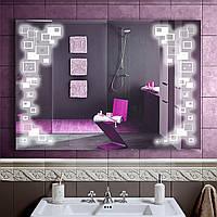 Зеркало LED со светодиодной подсветкой DV 7591 1000х700 мм.