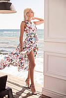 Красивое летнее платье Орхидея1