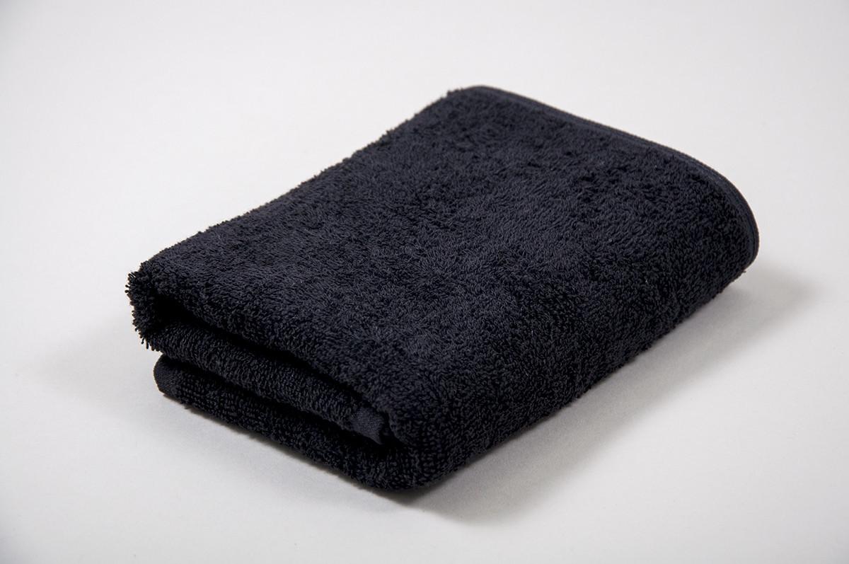 Полотенце махровое отельное Lotus 50*90 - Черный оптом