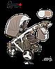Детская универсальная коляска 2 в 1 Camarelo Avenger 03, фото 3