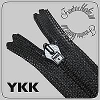 Молния YKK потайная 16см черная, фото 1