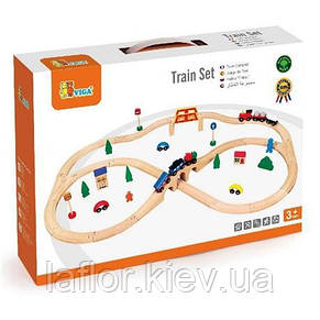 Детская железная дорога Viga Toys ( 49 дет.), фото 2