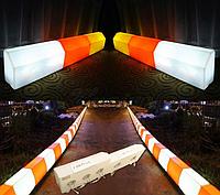 Дорожный бордюр светящийся прочный LED.