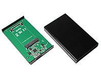 """Док-станция 1,8"""" Maiwo K18S для 1,8"""" mSATA SSD через USB3.0 на винтах алюм. черный"""