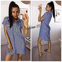 Платье-рубашка 6090