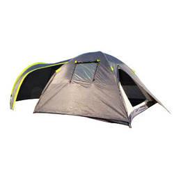 Палатка четырехместная Green Camp 1009-2 (2 входами) 4-х местная