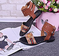 Женские босоножки Gucci, фото 1
