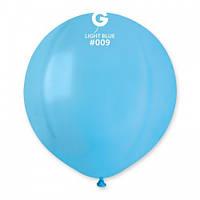 Кулька повітряний 19 дюймів (48 см) пастель БЛАКИТНИЙ