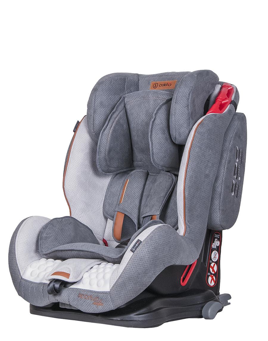 Детское автокресло Coletto Sportivo Isofix Grey