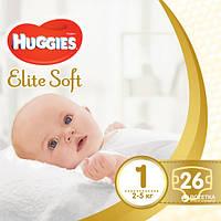Подгузники Huggies Elite Soft 1 Conv 26 шт