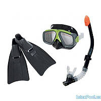 Набор для плаванья:ласты,маска,трубка