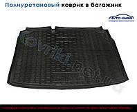 Полиуретановый коврик в багажник Audi A6(C7) (sedan, un)(2014-), Avto-Gumm
