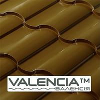 Металлочерепица Валенсия Сталекс  металлочерепица 0,5 мм Коричневый мат ARVEDI