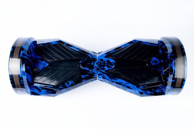 "Smart balance wheel Transformers 8"" гироцикл, гироборд синий огоньTao-Tao App и самобалансом, фото 2"