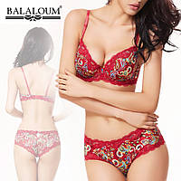 Комплект Balaloum оптом красный, чашка D (арт.505/1)