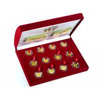 Золотые и серебряные монеты Знаки зодиака - ценный подарок и выгодная инвестиция