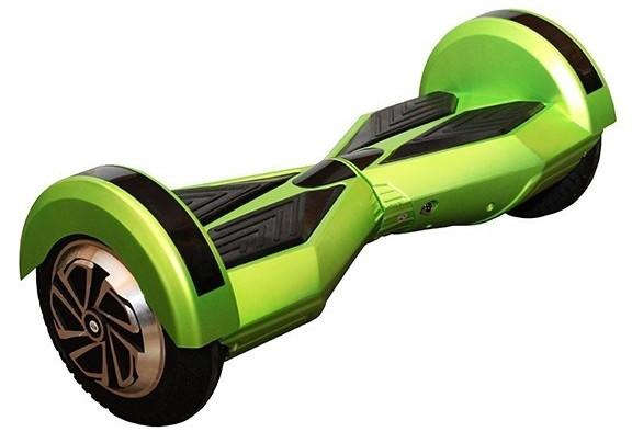 """Smart balance wheel 8"""" гироцикл, зеленый цвет с приложением Tao-Tao App и самобалансом"""