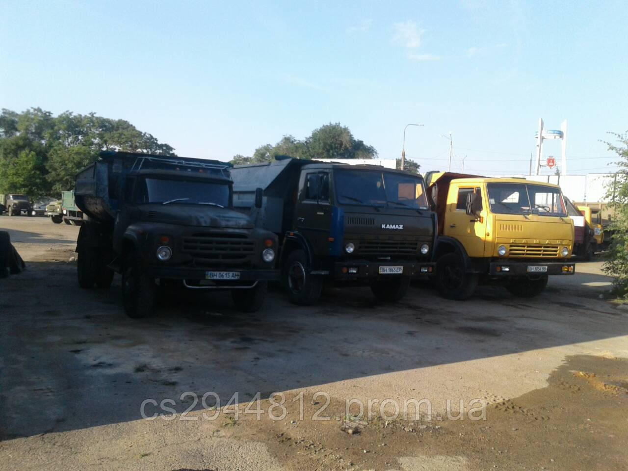 Доставка сыпучих материалов, грузоперевозки, вывоз мусора  Одесса