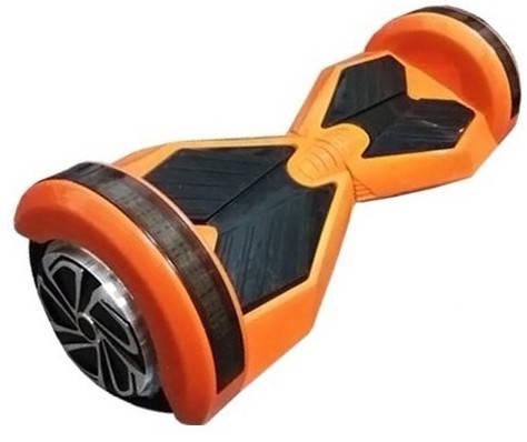 "Smart balance wheel Transformers 8"" Гироскутер Ховерборд оранжевый Tao-Tao App и самобалансом, фото 2"