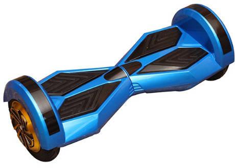 """Гироскутер Смартбаланс Гироборд Transformers 8"""" голубой цвет Tao-Tao App и самобалансом, фото 2"""