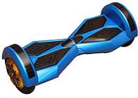 """Гироскутер Смартбаланс Гироборд Transformers 8"""" голубой цвет Tao-Tao App и самобалансом"""
