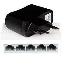 Коммутатор сетевой на 5 LAN портов